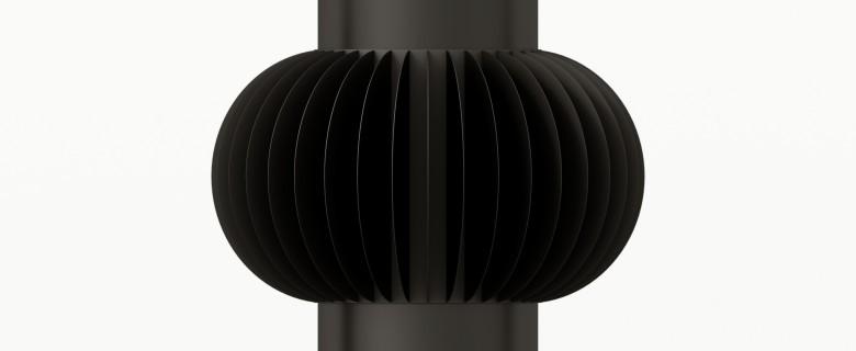 Modèle Courbe 17×5 cms